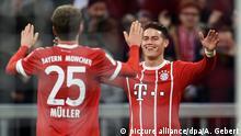 Deutschland Bayern München - Borussia Dortmund | Jubel Rodriguez