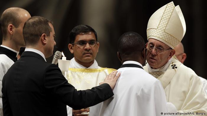Vatikan Messe zur Osternacht