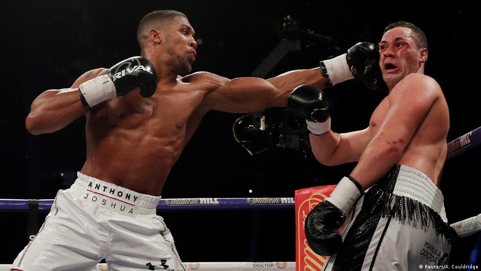 Anthony Joshua Vs Parker Odds