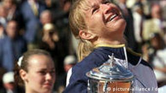 Deutschland Sport Tennis Steffi Graf 1999 French Open