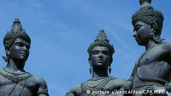 Thailand: Three Kings Monument in Chiang Mai (picture-alliance/dpa/CPA Media)