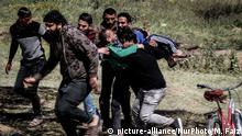Palästinenser-Israel Konflikt im Gaza-Streifen