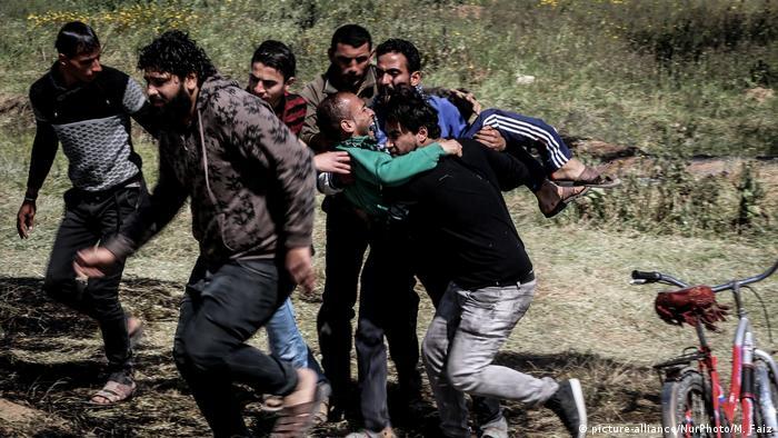 Palästinenser-Israel Konflikt im Gaza-Streifen (picture-alliance/NurPhoto/M. Faiz)
