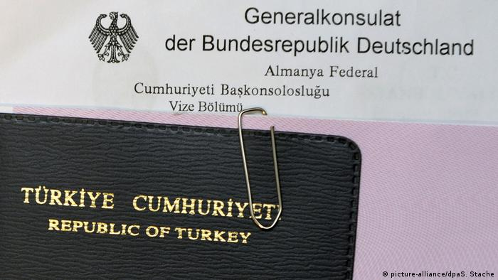 Visastelle deutsches Generalkonsulat in Istanbul (picture-alliance/dpaS. Stache)