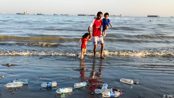 Iran Müll in der Natur ( ISNA)