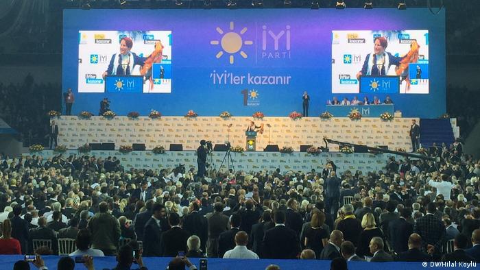 Türkei Ankara Parteitag IYI (DW/Hilal Köylü)