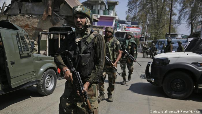 Violence in India-administered Kashmir