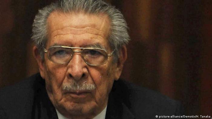 Guatemala Efraín Ríos Montt gestorben (picture-alliance/Demotix/H. Tanaka)