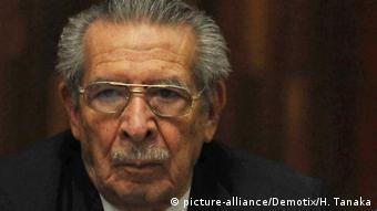 Efraín Ríos Montt, exdictador guatemalteco. (Archivo)