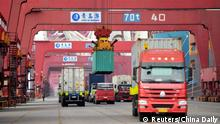 China Container-Hafen