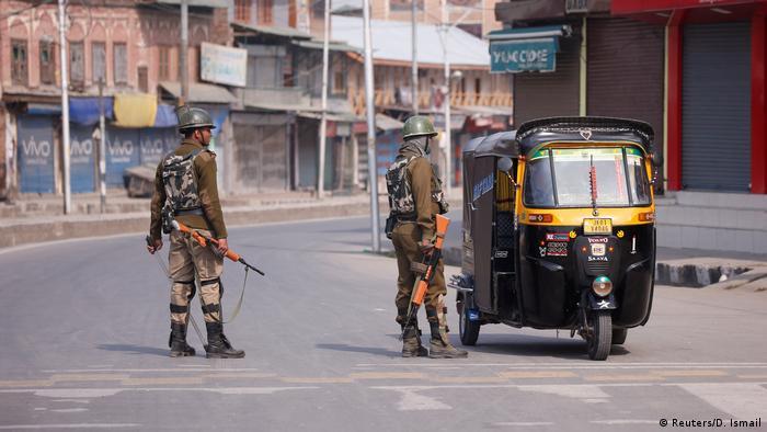 Indien Kaschmir Srinagar Generalstreik