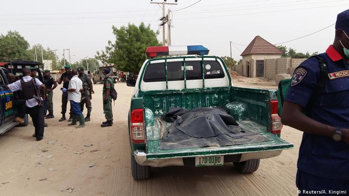 Нігерійські правоохоронці в Майдугурі після одного з нападів бойовиків Боко Харам (архівне фото)