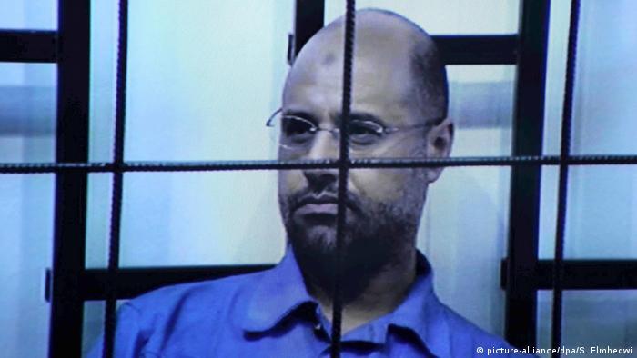 Saif al-Islam Gadaffi (picture-alliance/dpa/S. Elmhedwi)