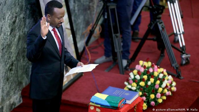 Äthiopien Vereidigung Premierminister Abiy Ahmed