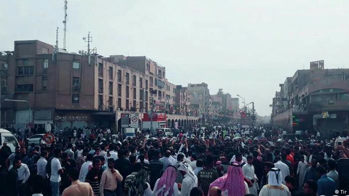 تظاهرات در اهواز