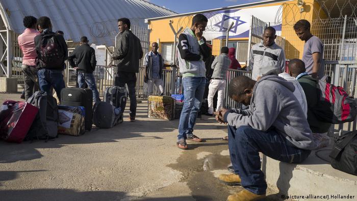 Afrikanische Migranten in Israel
