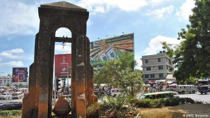 Kenia Mombasa Kengeleni Denkmal