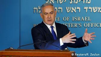 Israel Pemierminister Benjamin Netanjahu PK in Jerusalem