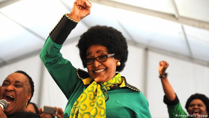 Südafrika Winnie Mandela