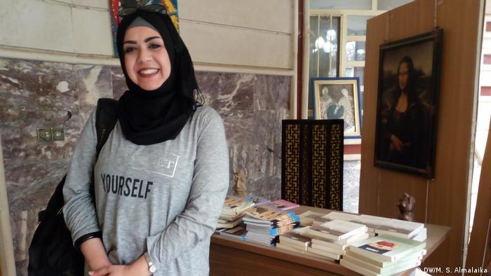 Irak Bagdad Digitalisierung Sahar Al Hamash (DW/M. S. Almalaika)