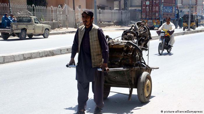 Pakistan Straßenszene in Quetta (picture-alliance/Zumapress)