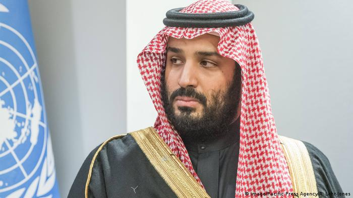 Saudi Arabien Mohammed bin Salman (imago/Pacific Press Agency/A. Lohr-Jones)