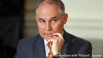 Scott Pruitt: negador da mudança climática colocado á frente da agência de proteção ambiental por Trump