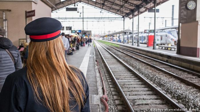 Frankreich Streik gegen Bahnreform