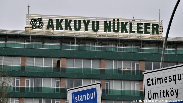 Ankara Akkuyu Nuclear JSC Zentrale (picture-alliance/NurPhoto/A. Gocher)