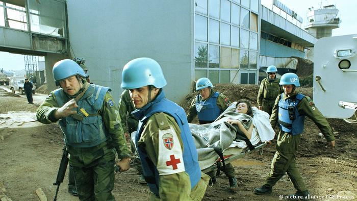 Plave kacige u Sarajevu 1994.