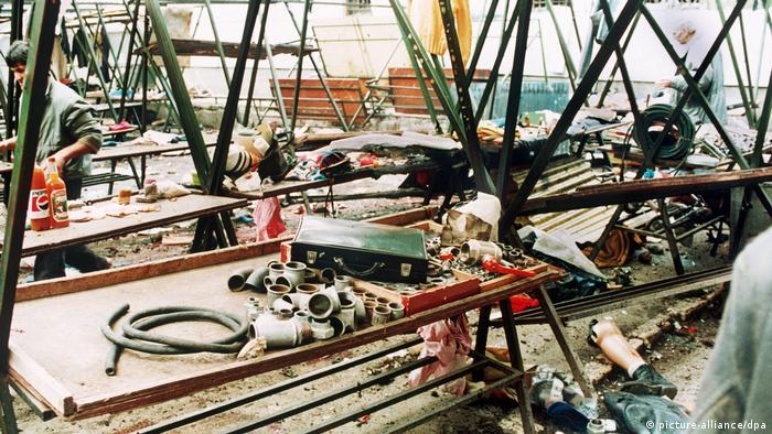 Bosnien Herzegowina Belagerung von Sarajevo Markale Marktplatz
