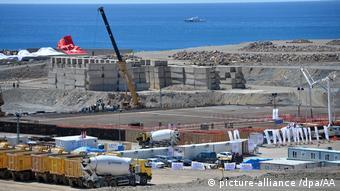 Начало строительства АЭС Аккую в провинции Мерсин на берегу Средиземного моря, Турция