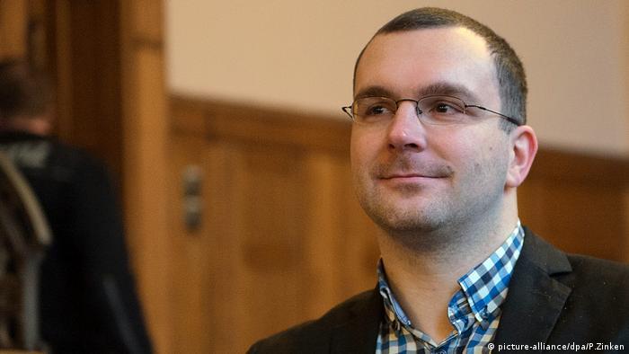 NPD-Funktionär erneut vor Gericht Sebastian Schmitdke