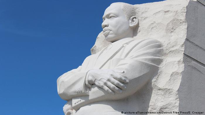 USA Martin Luther King, Jr. National Memorial in Washington (picture-alliance/newscom/Detroit Free Press/E. Creager)