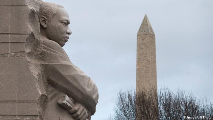 USA Martin Luther King, Jr. National Memorial in Washington (Imago/UPI Photo)