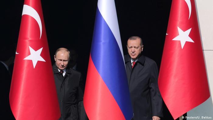 رایزنی پوتین و اردوغان در مورد سوریه بدون حضور ایران
