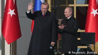 Президенты Турции и РФ