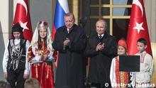 Türkei Recep Erdogan & Wladimir Putin in Ankara | Grundsteinlegung-Zeremonie Akkuyu AKW