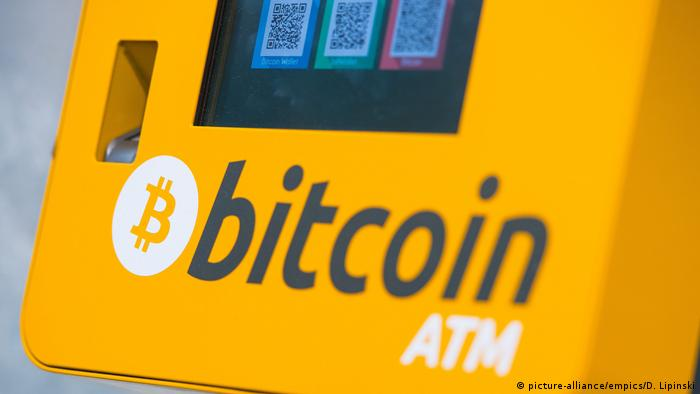 Bitcoin ATM (picture-alliance/empics/D. Lipinski)