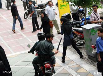 عکس مربوط به اعتراضهای تابستان ۱۳۸۸ در تهران است
