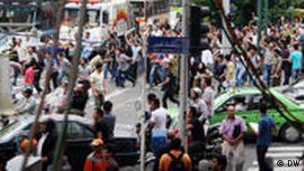 تهران، صحنهای در روز شنبه