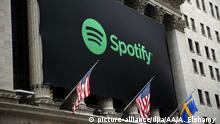 USA Spotify Börsengang in New York