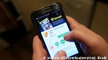 Dating app stock. The Grindr app in use on a Samsung smartphone. Picture date: Saturday December 26, 2015. Photo credit should read: Jonathan Brady/PA Wire URN:25109950 |