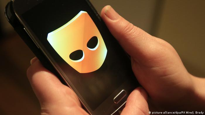 Gay dating App Grindr (picture-alliance/dpa/PA Wire/J. Brady)
