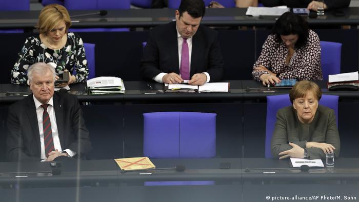 Horst Seehofer & Angela Merkel
