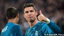 UEFA Champions League Viertelfinale | Juventus Turin vs. Real Madrid - Tor Ronaldo