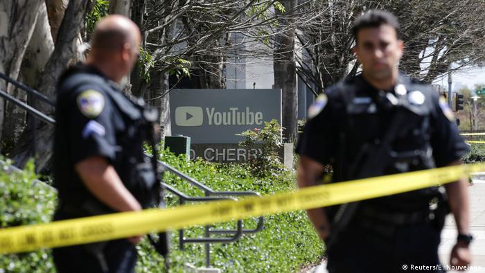 USA - Polizei-Einsatz wegen Schüssen bei der YouTube-Zentrale (Reuters/E. Nouvelage)