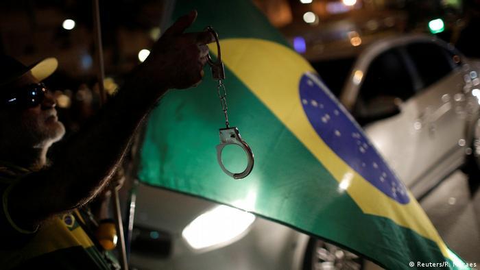 Protesto de abril deste ano no Rio de Janeiro contra o ex-presidente Lula
