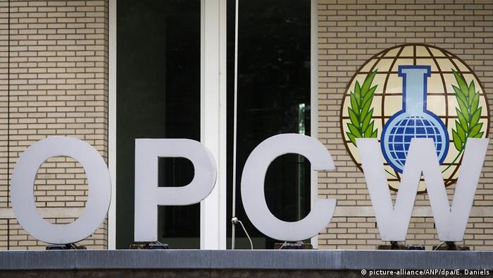 OPCW Logo der Organisation für das Verbot von Chemiewaffen