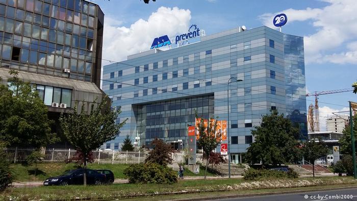 Bosnien Sarajevo Hauptsitz von ASA Prevent
